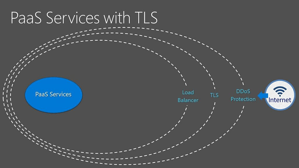 PaaS Services with TLS