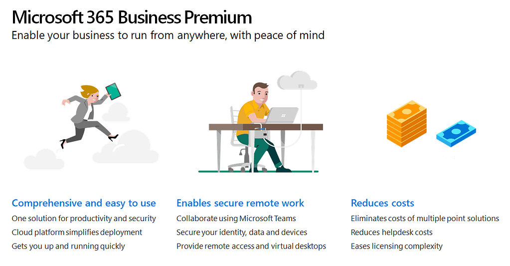 Enable your business to run from anywhere, with peace of mind.