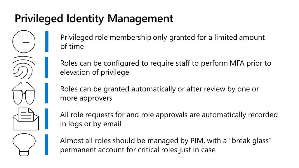 Privileged Identity Management in Azure