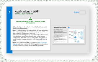 Implement Web Application Firewalls