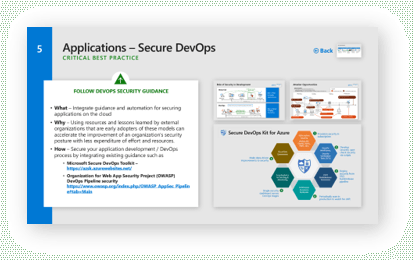 Follow guidance to secure your DevOps